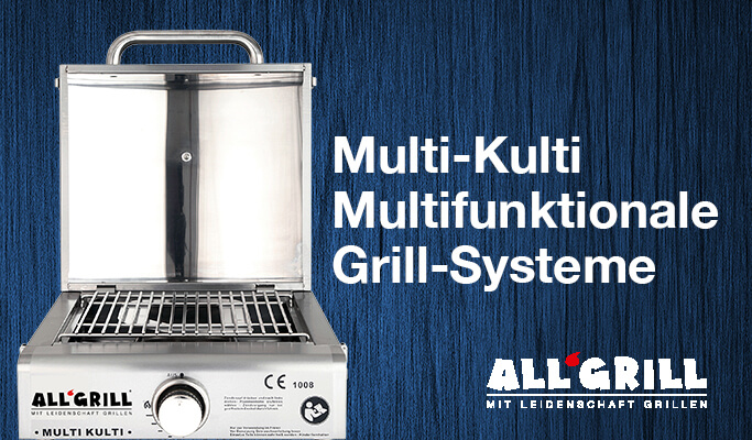 Multi-Kulti - Multifunktionale Grill-Systeme