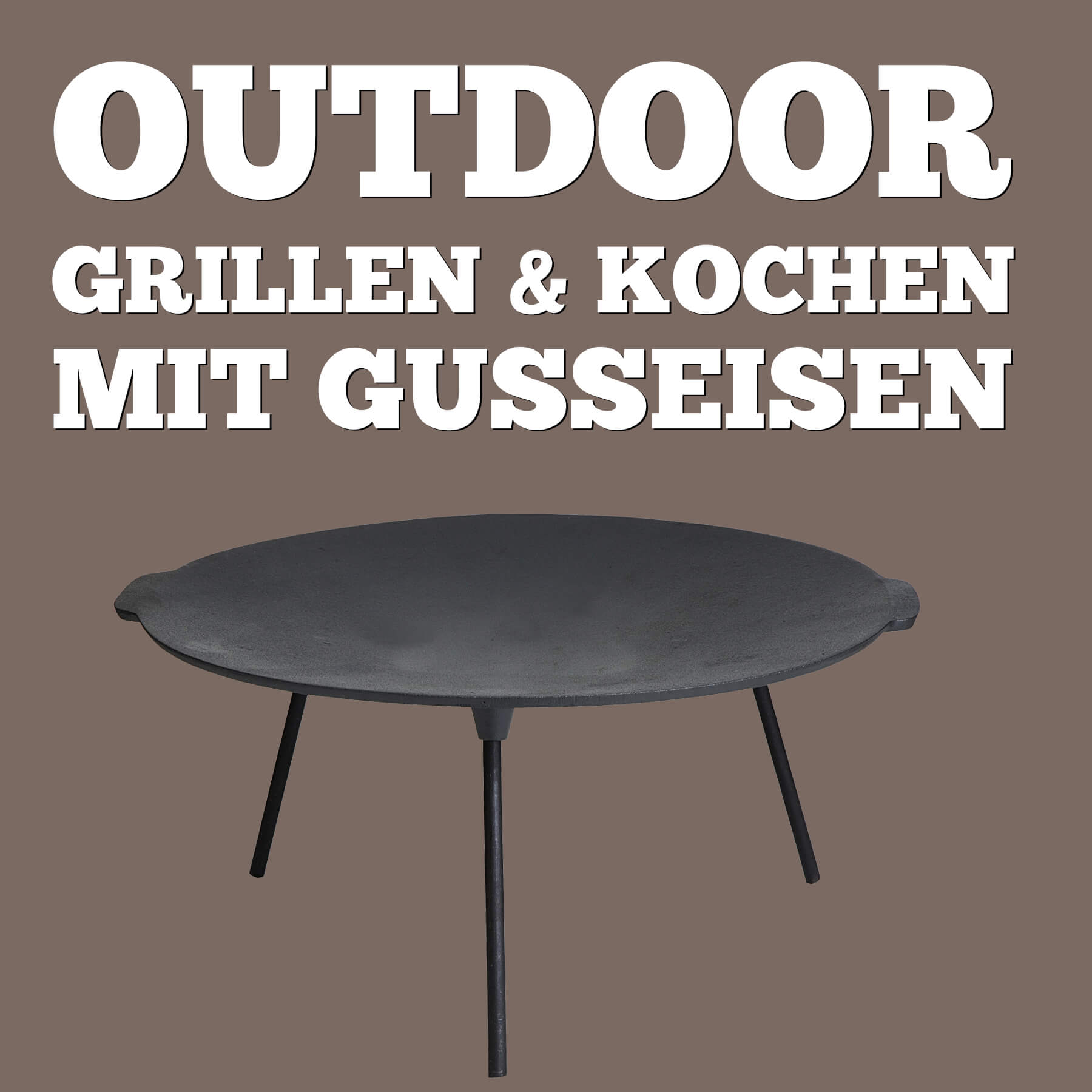 Outdoor Gusseisen von ALL'GRILL