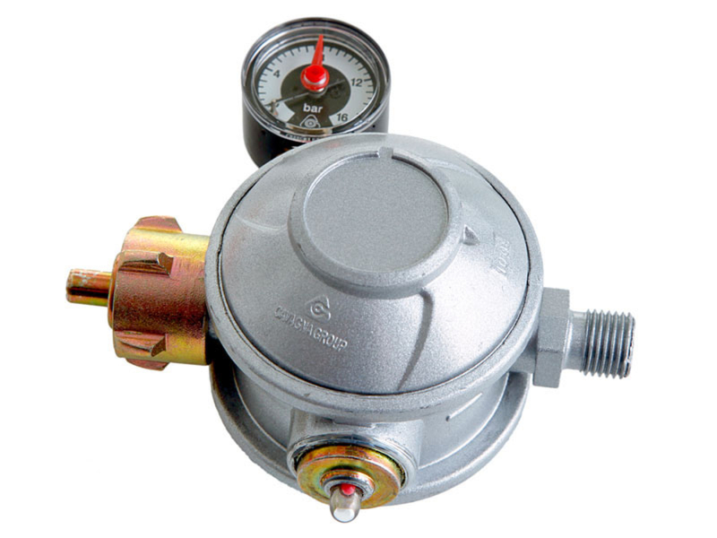 Over pressure regulator for commercial use 50 mbar