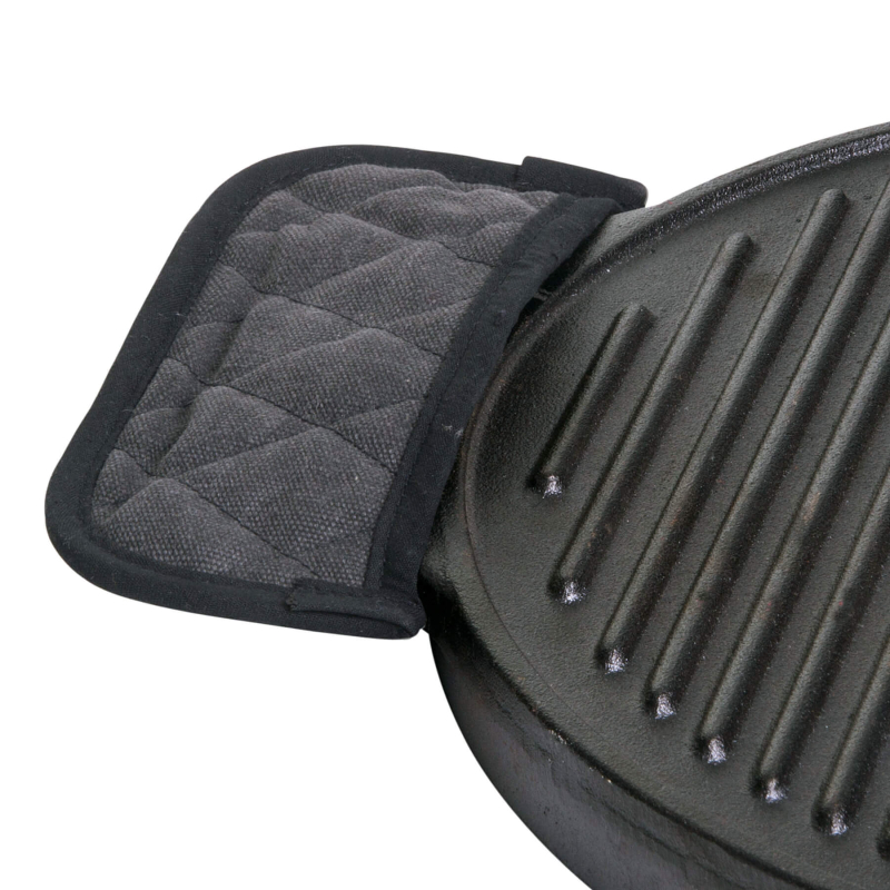Heat-protection/Handle-protection, ideal for cast-iron dishes, big 20 x 8 cm