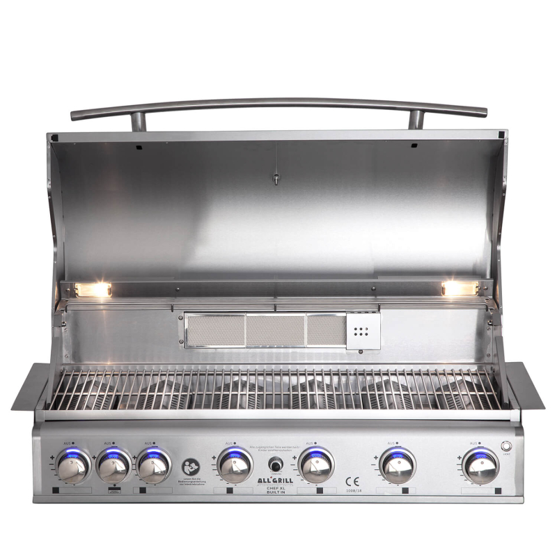 TOP-LINE - ALLGRILL CHEF XL - BUILT-IN  mit Airsystem