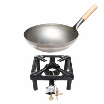 Wok Für Gasgrill : Hockerkocher set klein mit stahl wok Ø 30 cm ohne zündsicherung