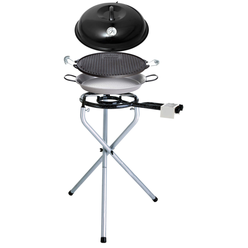 Portables Set Nr. 1 complete incl. Grill-plate 38 cm