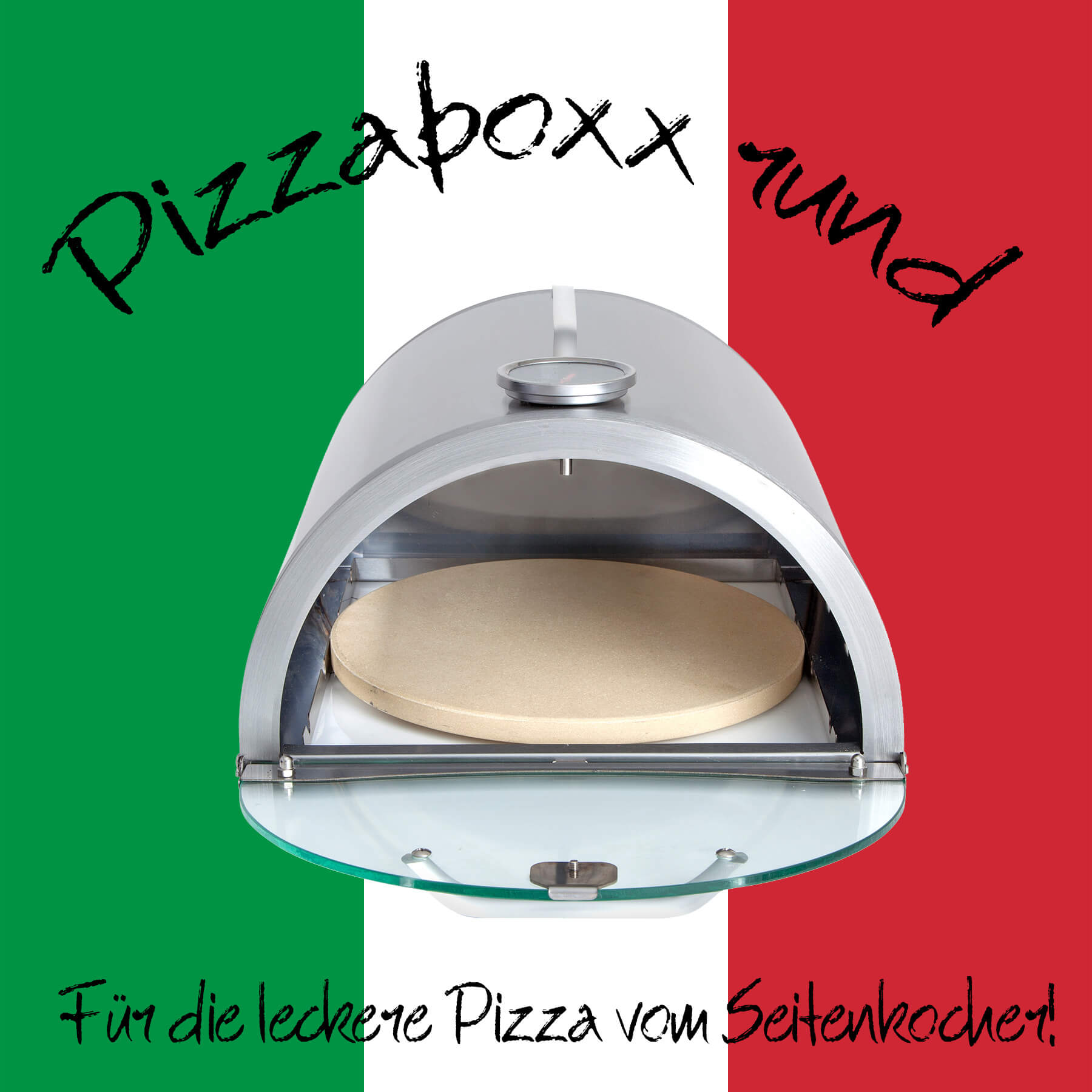 ALL'GRILL Pizzaboxx rund