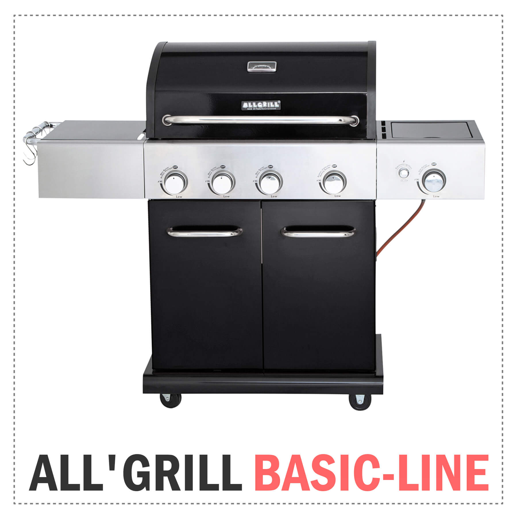 ALL'GRILL Gasgrills BASIC-LINE
